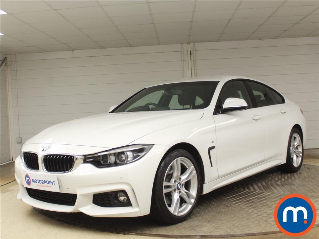 BMW 4 Series M Sport - Stock Number 1087324 Passenger side front corner