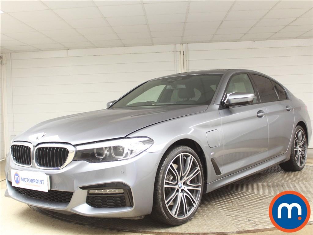 BMW 5 Series M Sport - Stock Number 1089592 Passenger side front corner