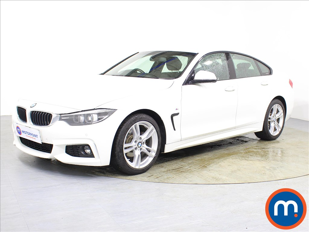 BMW 4 Series M Sport - Stock Number 1089690 Passenger side front corner