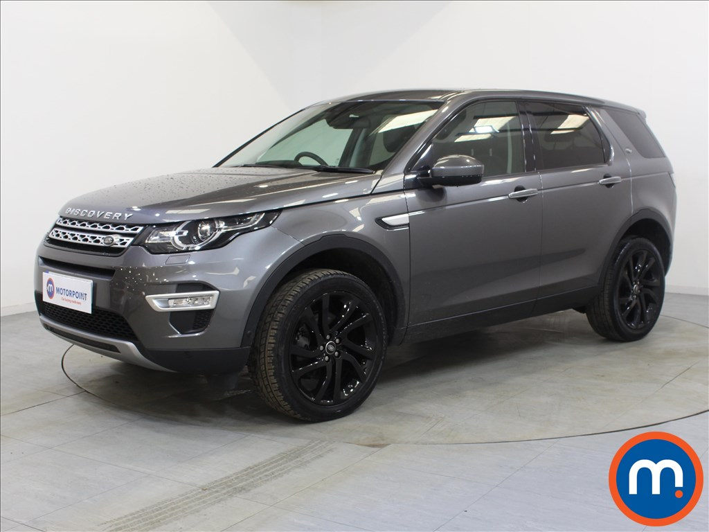 Land Rover Discovery Sport HSE Luxury - Stock Number 1090843 Passenger side front corner