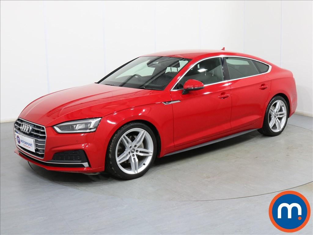 Audi A5 S Line - Stock Number 1091623 Passenger side front corner