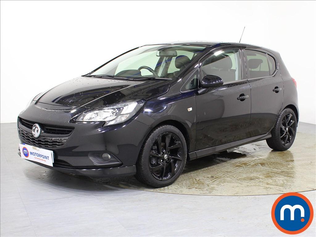 Vauxhall Corsa SRi Vx-line Nav Black - Stock Number 1078451 Passenger side front corner