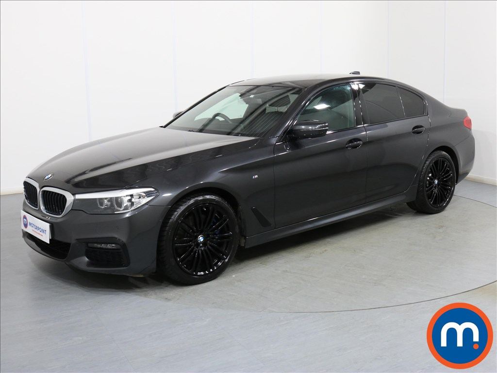 BMW 5 Series M Sport - Stock Number 1091628 Passenger side front corner