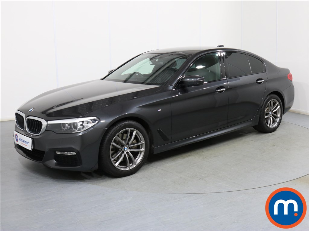 BMW 5 Series M Sport - Stock Number 1090020 Passenger side front corner