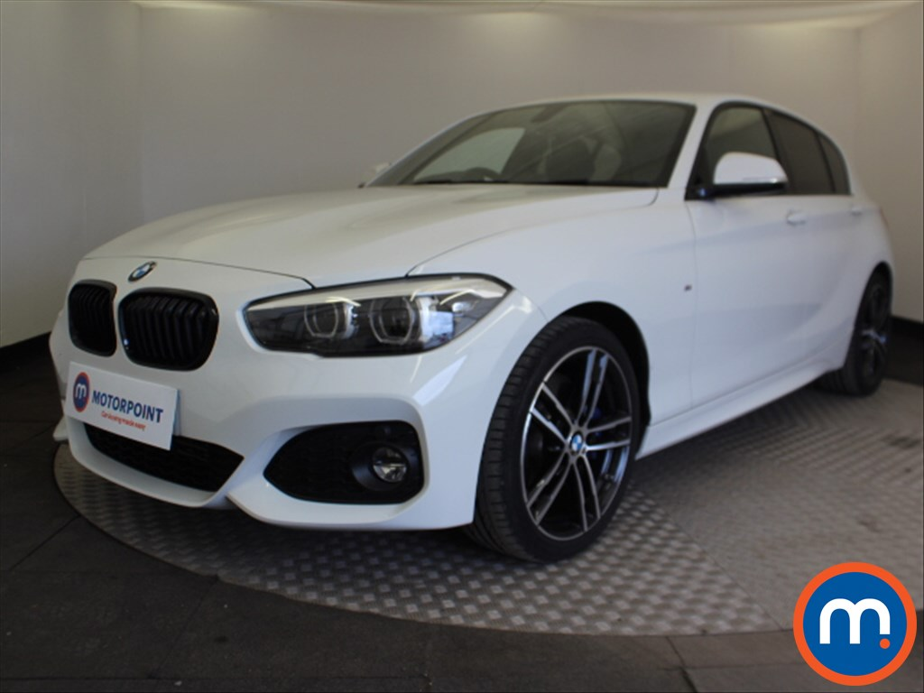 BMW 1 Series M Sport Shadow Edition - Stock Number 1091189 Passenger side front corner