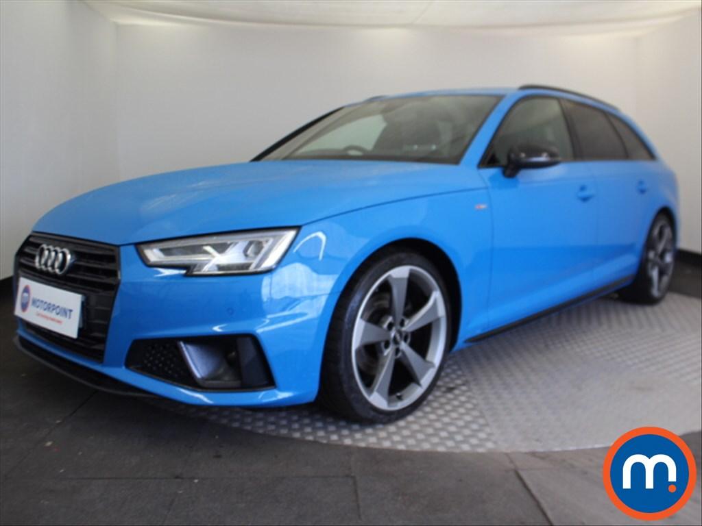 Audi A4 Black Edition - Stock Number 1087939 Passenger side front corner