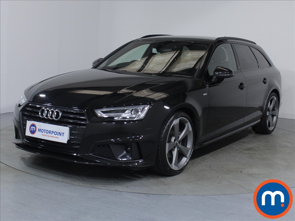 Audi A4 Black Edition - Stock Number 1089568 Passenger side front corner