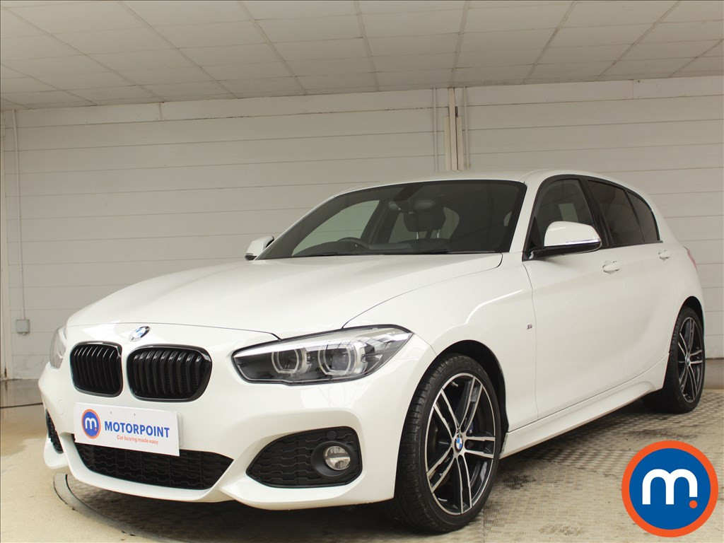 BMW 1 Series M Sport Shadow Edition - Stock Number 1086505 Passenger side front corner