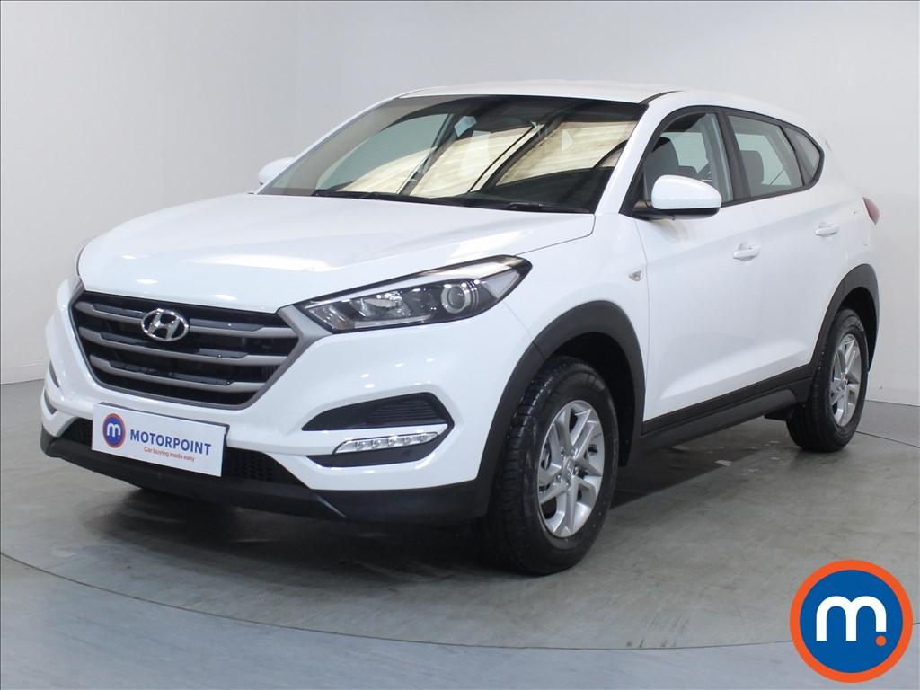 Hyundai Tucson S - Stock Number 1085140 Passenger side front corner