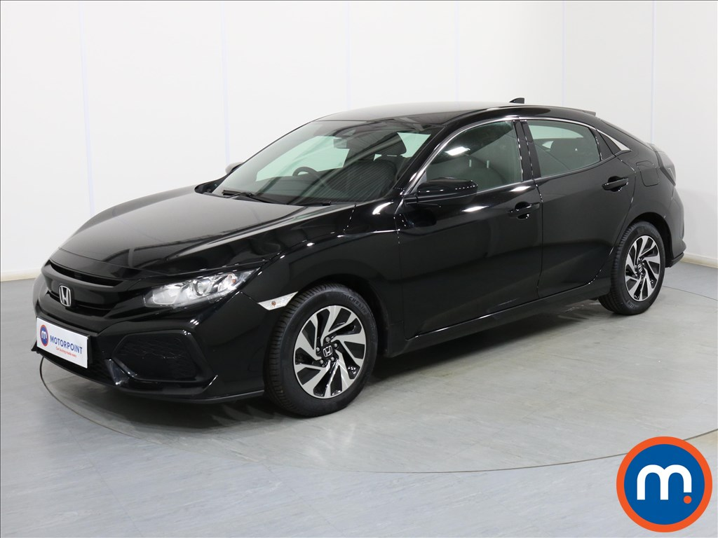 Honda Civic SE - Stock Number 1082880 Passenger side front corner