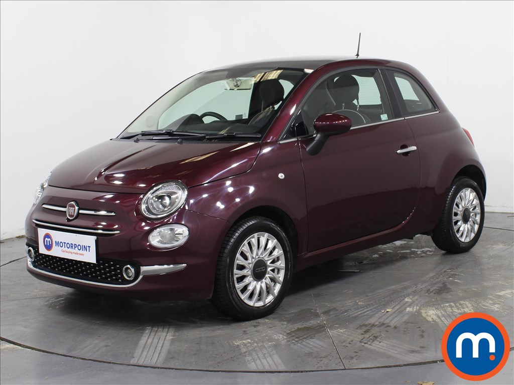 Fiat 500 Lounge - Stock Number 1087009 Passenger side front corner