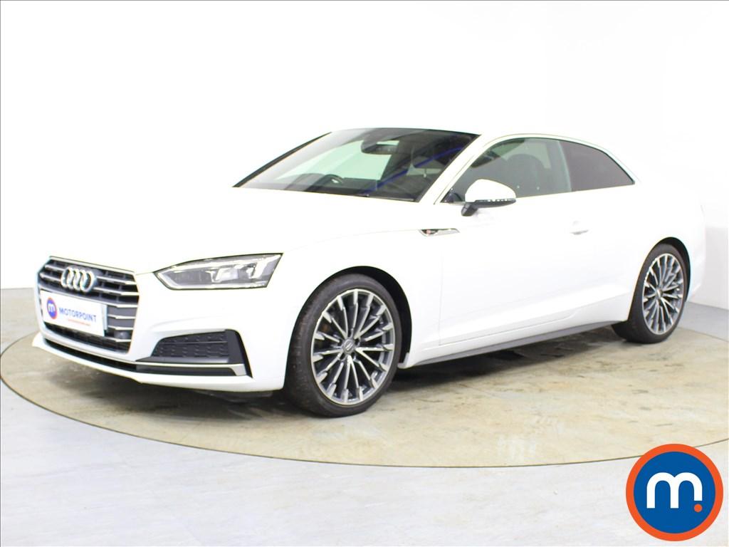 Audi A5 S Line - Stock Number 1089105 Passenger side front corner