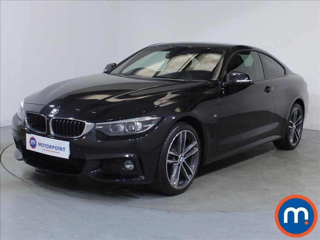 BMW 4 Series M Sport - Stock Number 1087726 Passenger side front corner