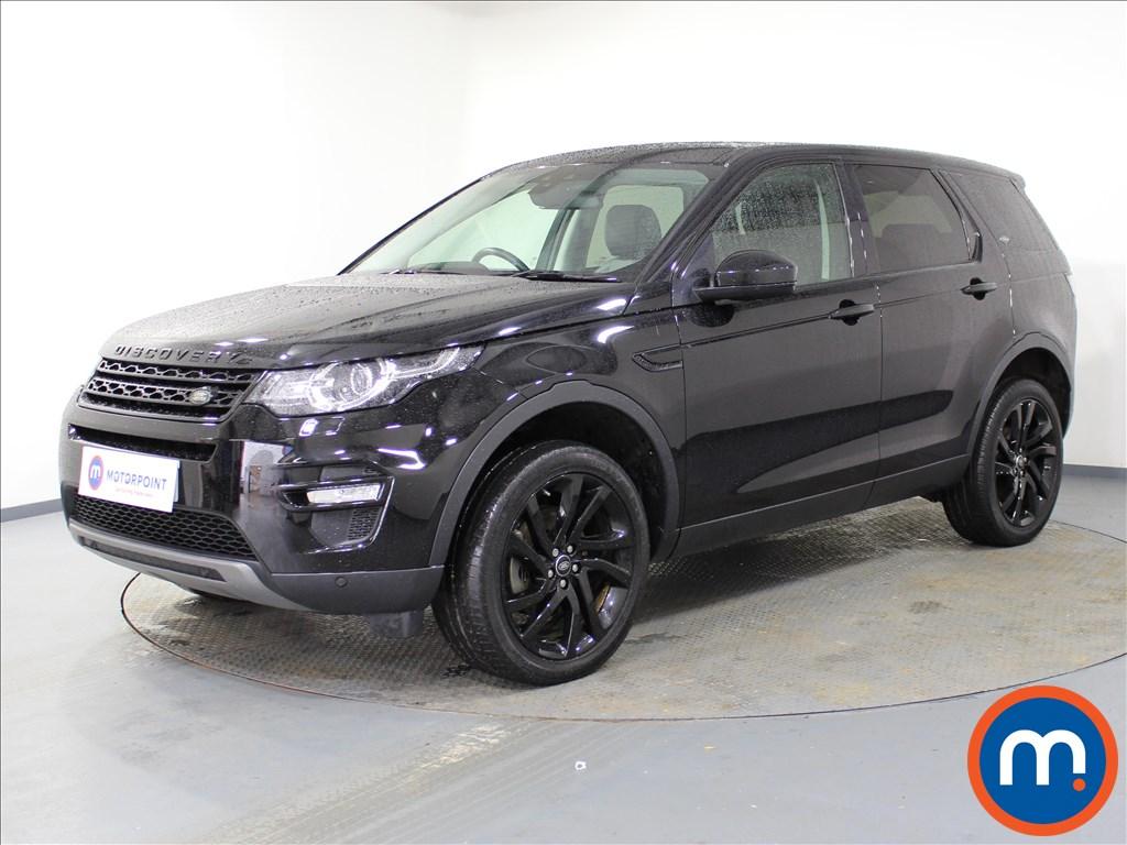 Land Rover Discovery Sport HSE Black - Stock Number 1074160 Passenger side front corner