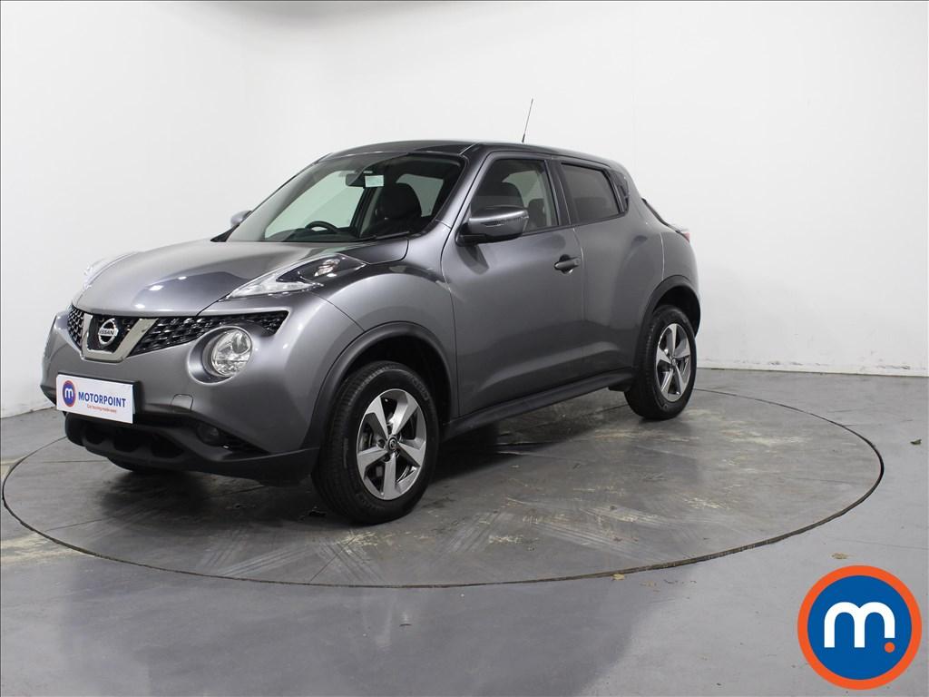 Nissan Juke Acenta - Stock Number 1090131 Passenger side front corner
