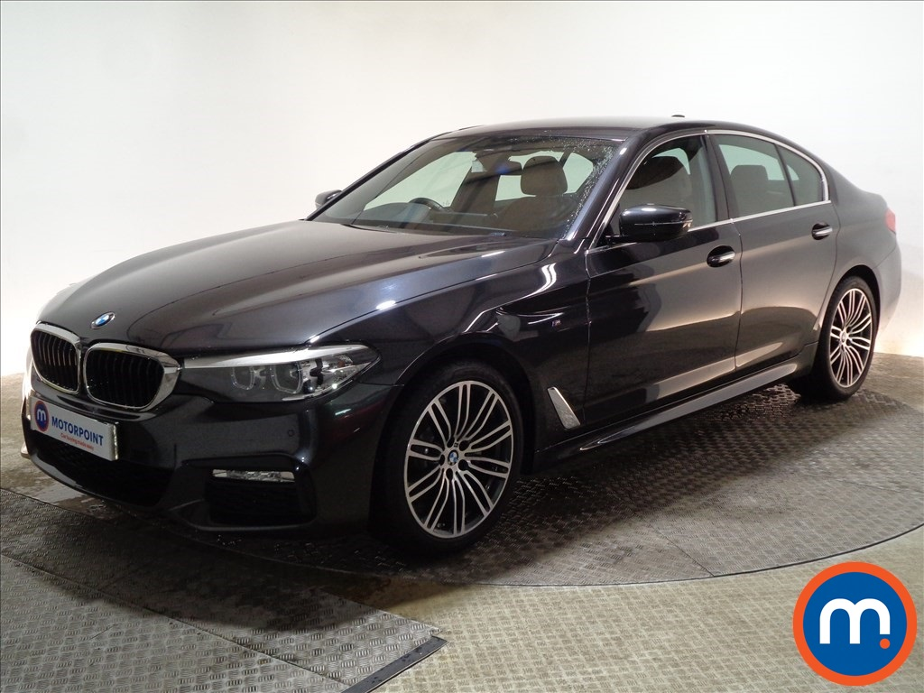 BMW 5 Series M Sport - Stock Number 1090096 Passenger side front corner