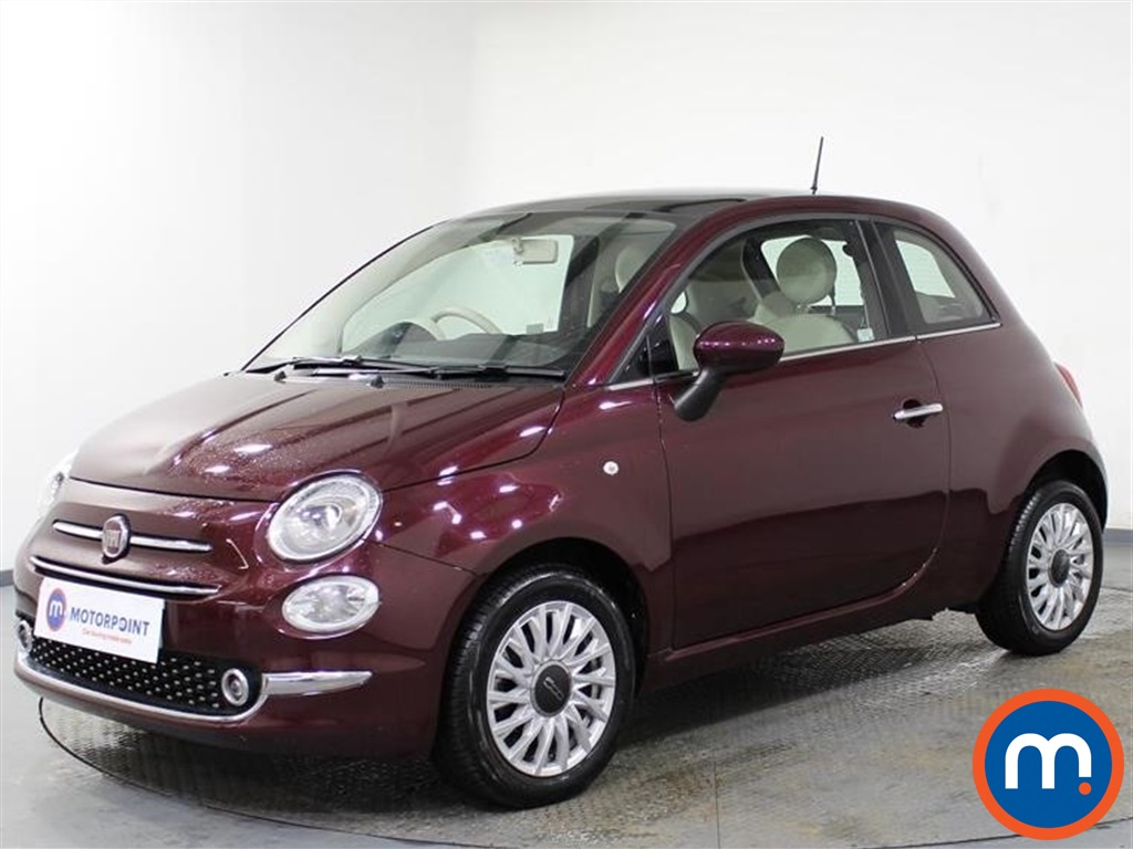 Fiat 500 Lounge - Stock Number 1089974 Passenger side front corner