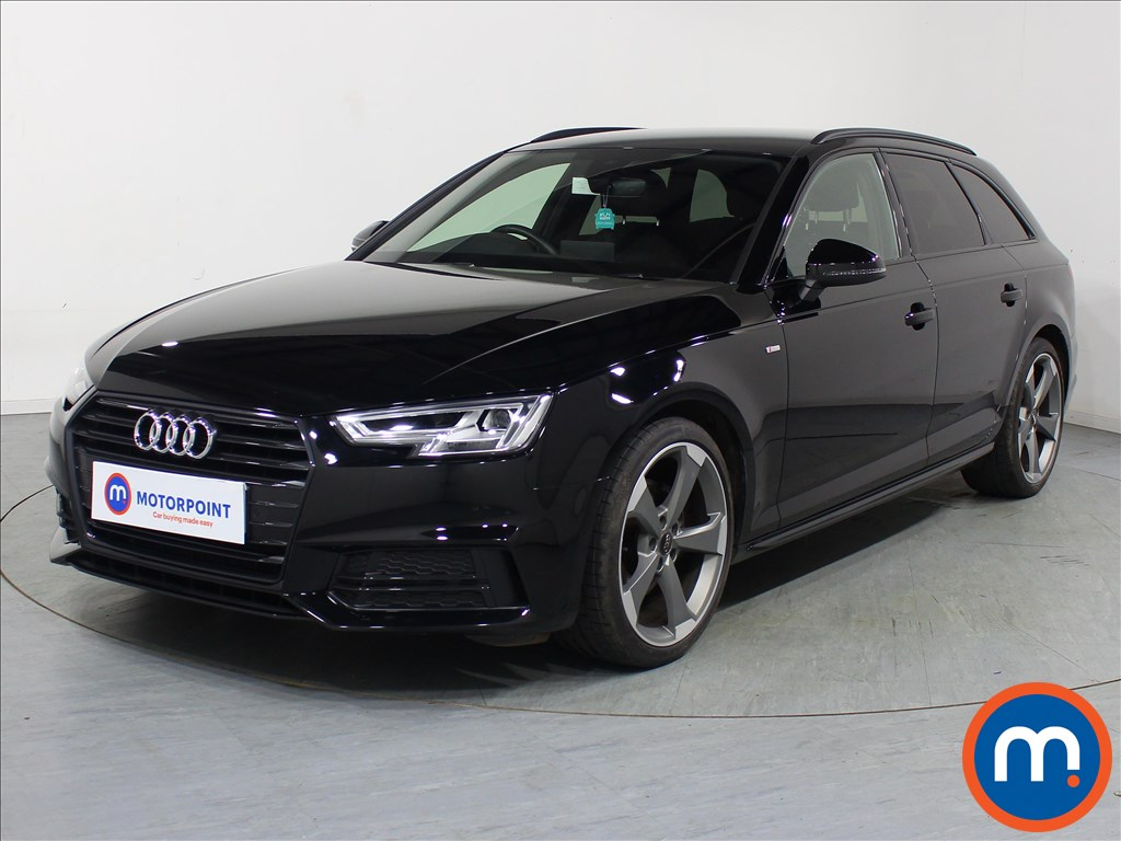 Audi A4 Black Edition - Stock Number 1087161 Passenger side front corner