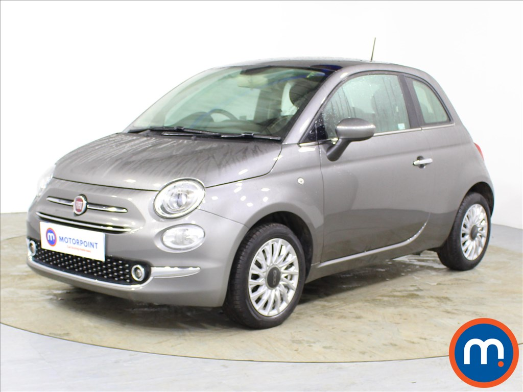 Fiat 500 Lounge - Stock Number 1087019 Passenger side front corner