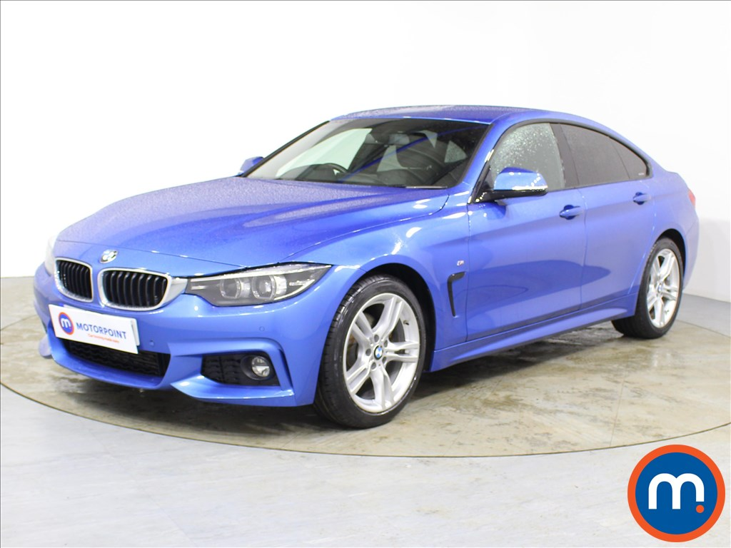 BMW 4 Series M Sport - Stock Number 1085734 Passenger side front corner