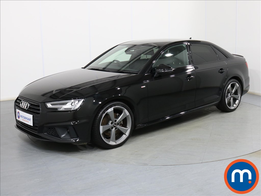Audi A4 Black Edition - Stock Number 1078108 Passenger side front corner