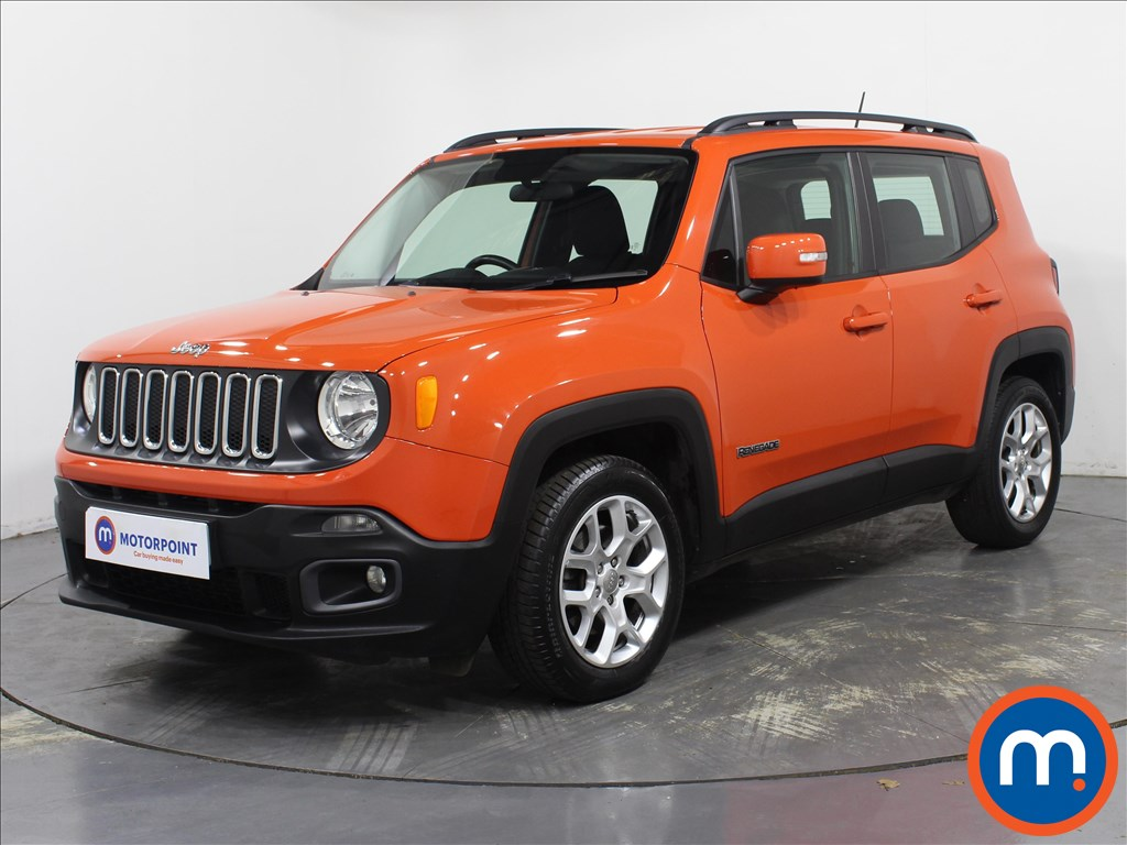 Jeep Renegade Longitude - Stock Number 1091522 Passenger side front corner
