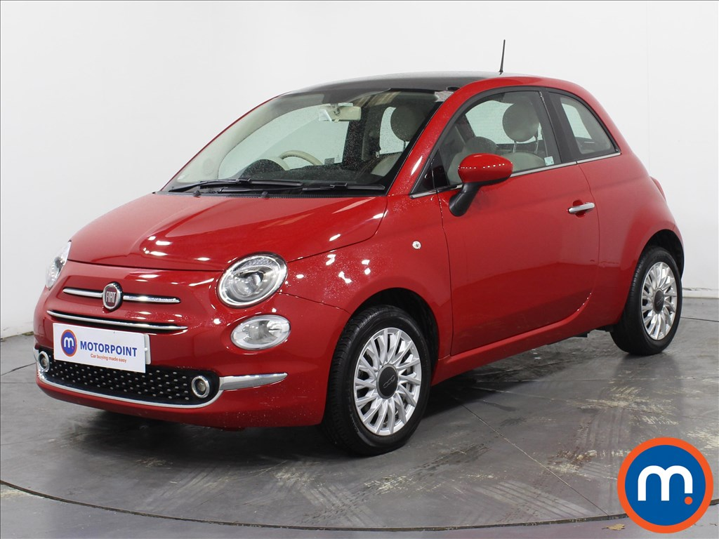 Fiat 500 Lounge - Stock Number 1087159 Passenger side front corner