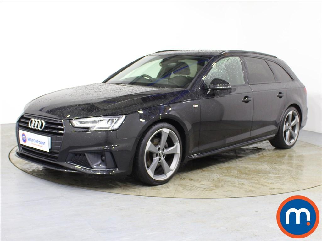 Audi A4 Black Edition - Stock Number 1089362 Passenger side front corner
