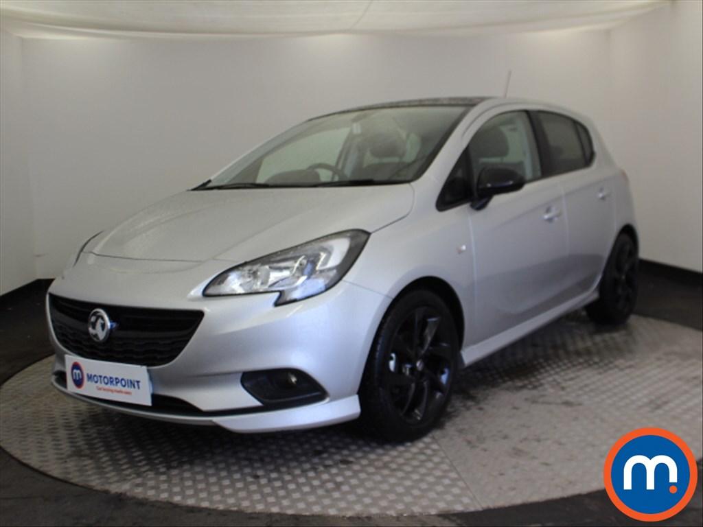 Vauxhall Corsa SRi Vx-line Nav Black - Stock Number 1085837 Passenger side front corner