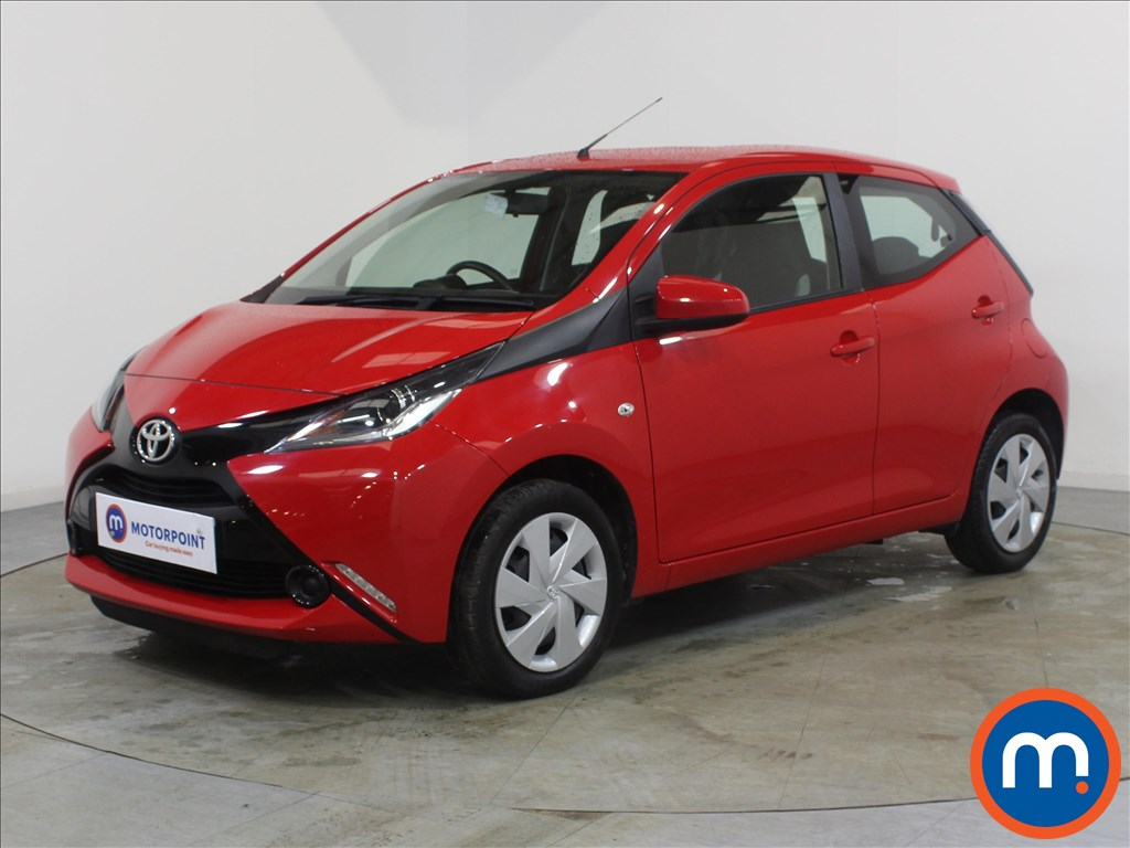 Toyota Aygo X-Play - Stock Number 1090987 Passenger side front corner