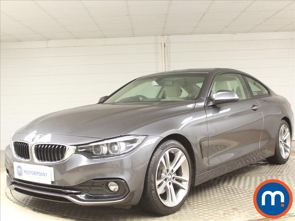 BMW 4 Series Sport - Stock Number 1090035 Passenger side front corner