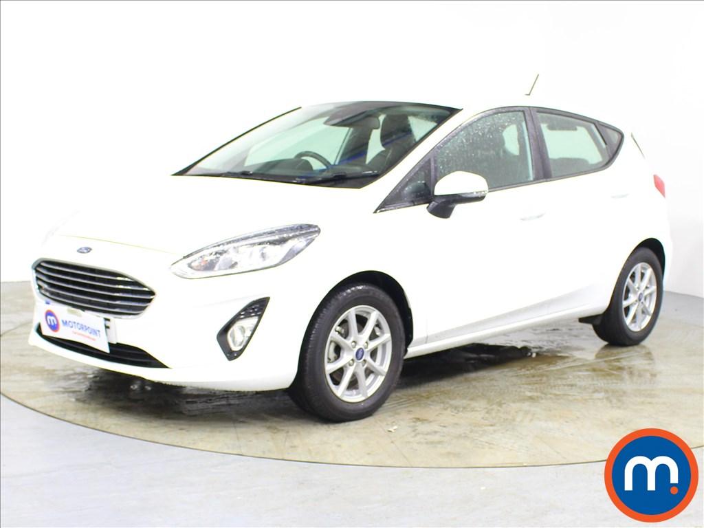 Ford Fiesta Zetec - Stock Number 1090367 Passenger side front corner