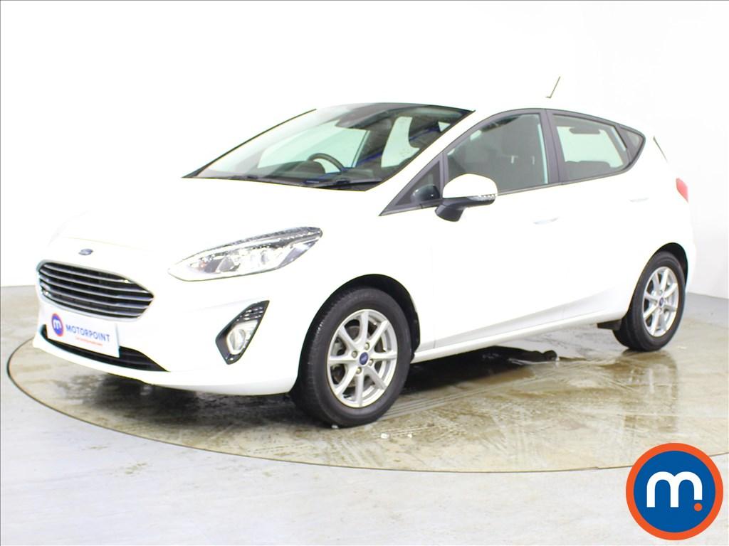 Ford Fiesta Zetec - Stock Number 1089983 Passenger side front corner
