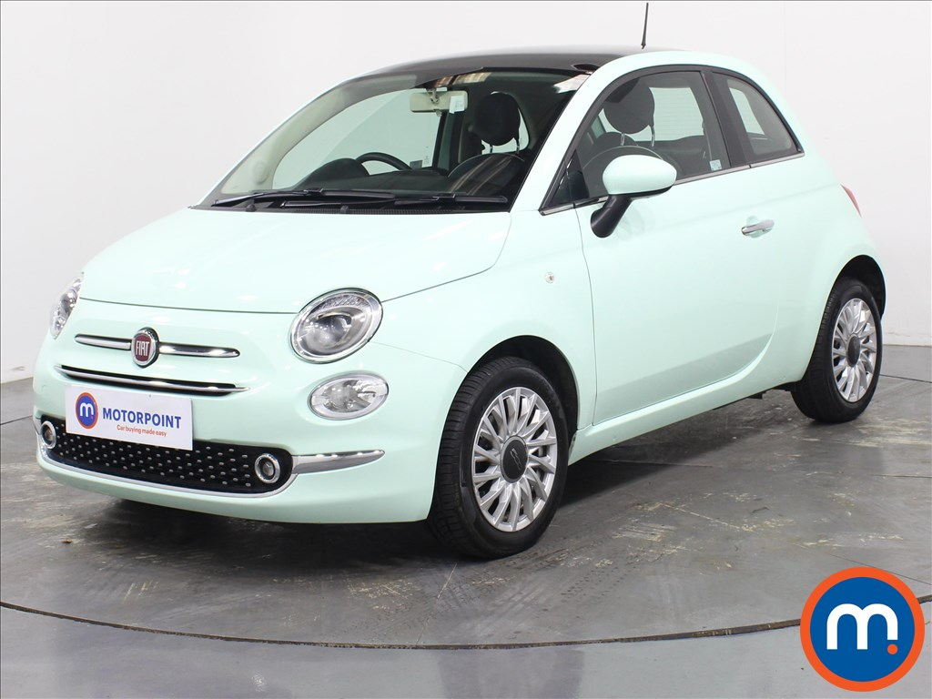 Fiat 500 Lounge - Stock Number 1087157 Passenger side front corner