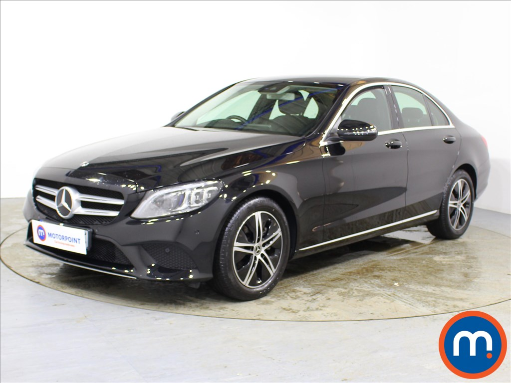 Mercedes-Benz C Class Sport - Stock Number 1090970 Passenger side front corner