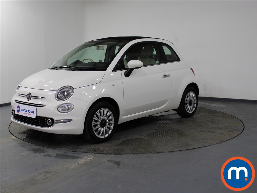 Fiat 500 Lounge - Stock Number 1089479 Passenger side front corner