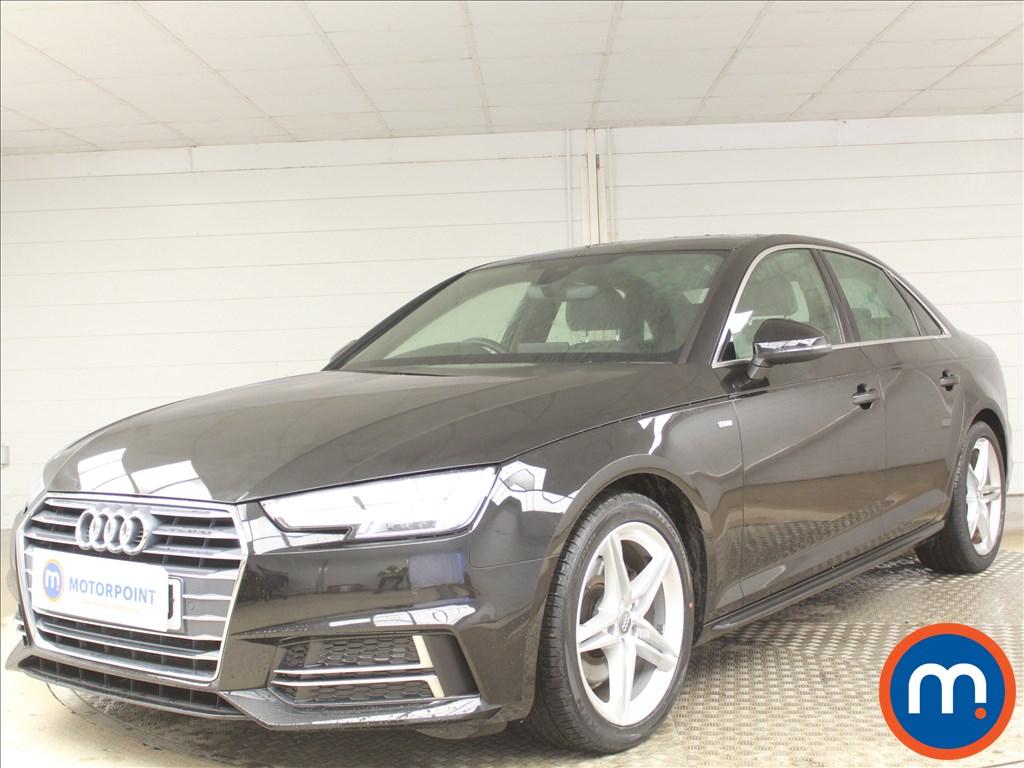 Audi A4 S Line - Stock Number 1087155 Passenger side front corner