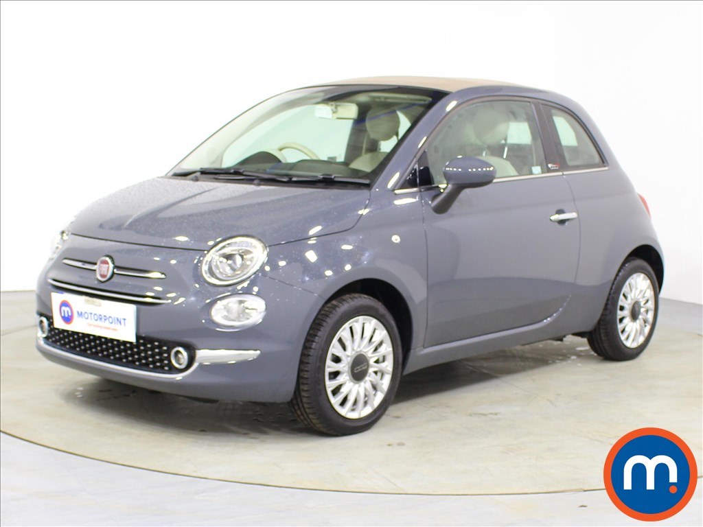 Fiat 500 Lounge - Stock Number 1088185 Passenger side front corner