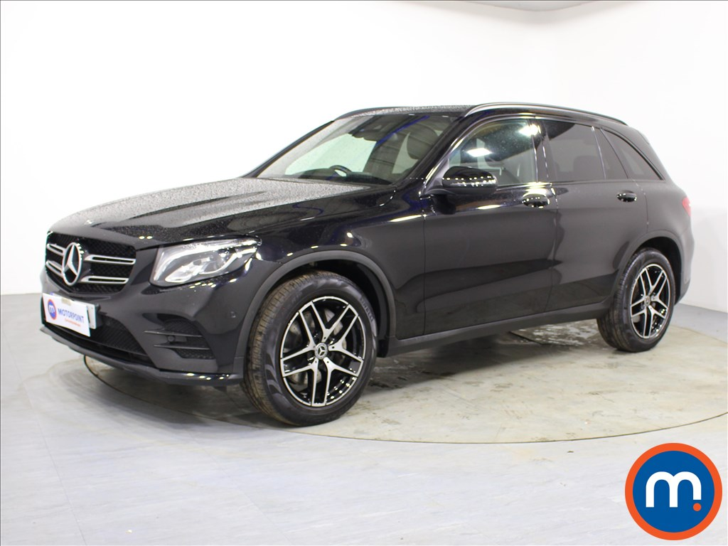 Mercedes-Benz GLC Night Edition - Stock Number 1091253 Passenger side front corner