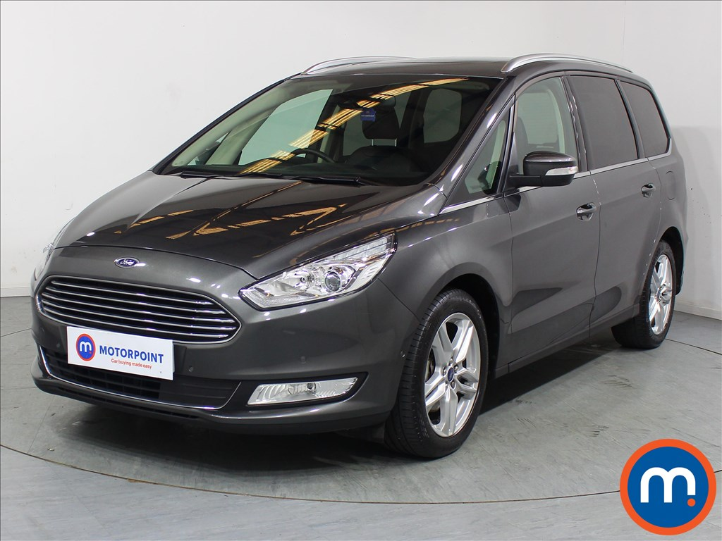 Ford Galaxy Titanium X - Stock Number 1089215 Passenger side front corner