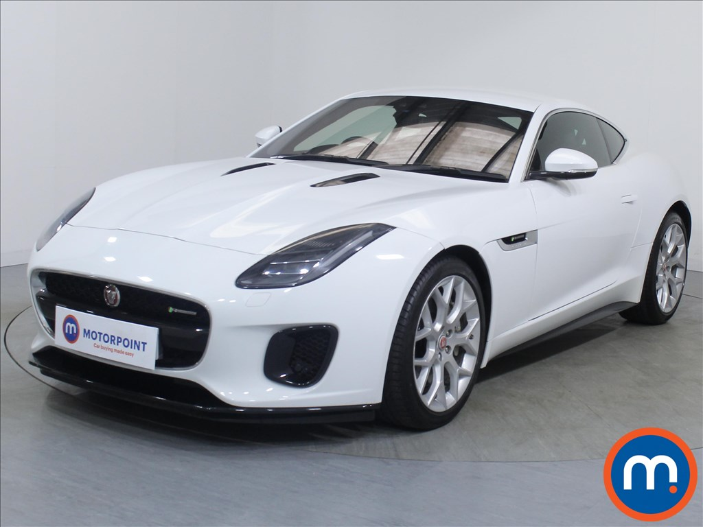 Jaguar F-Type R-Dynamic - Stock Number 1086027 Passenger side front corner