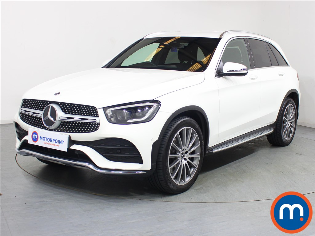 Mercedes-Benz GLC AMG Line Premium - Stock Number 1091718 Passenger side front corner