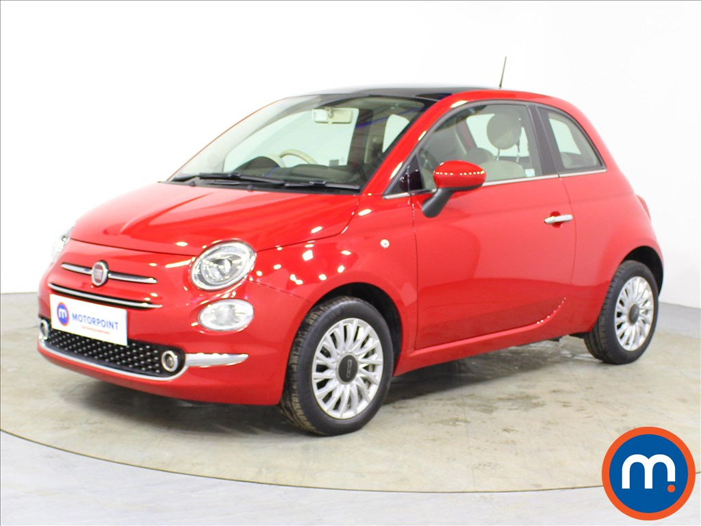 Fiat 500 Lounge - Stock Number 1085486 Passenger side front corner