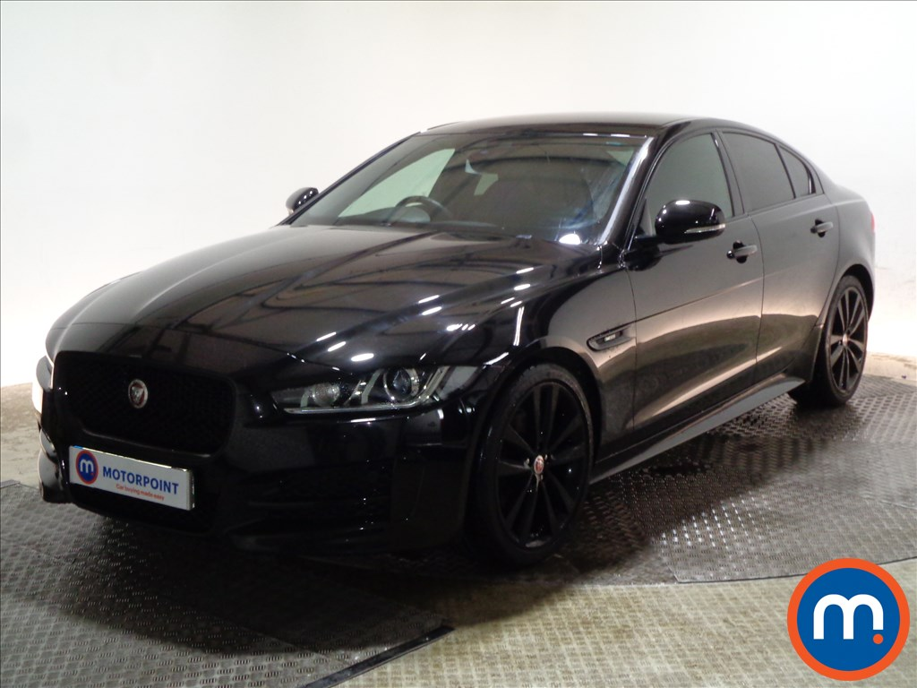 Jaguar XE R-Sport - Stock Number 1089343 Passenger side front corner