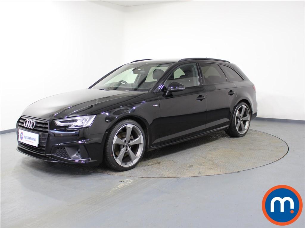 Audi A4 Black Edition - Stock Number 1089566 Passenger side front corner