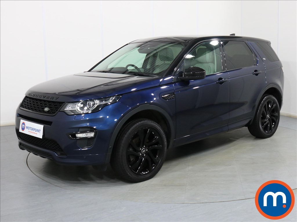Land Rover Discovery Sport HSE Luxury - Stock Number 1089658 Passenger side front corner
