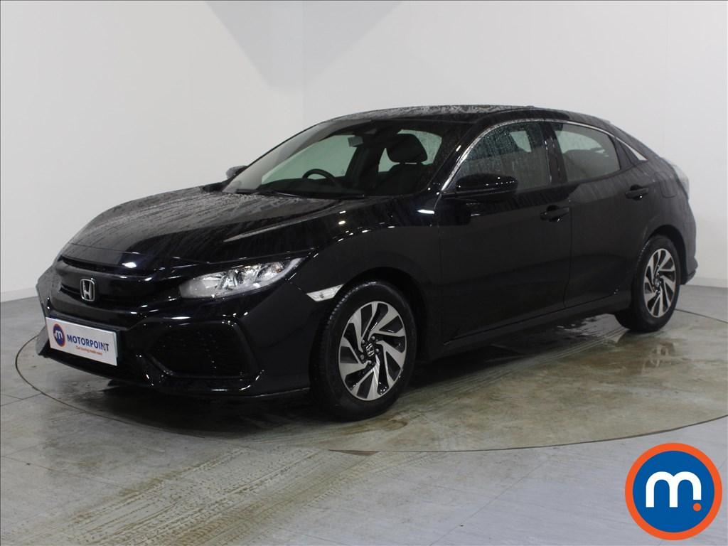 Honda Civic SE - Stock Number 1089066 Passenger side front corner