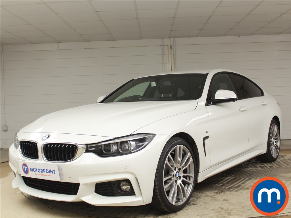 BMW 4 Series M Sport - Stock Number 1091595 Passenger side front corner