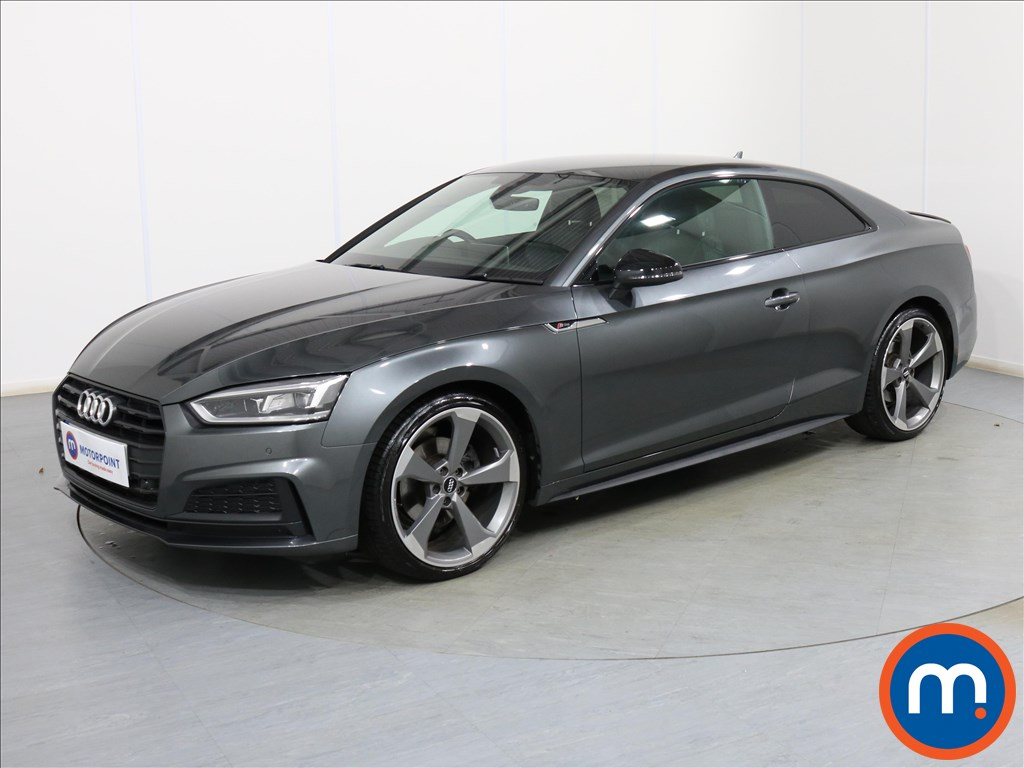 Audi A5 Black Edition - Stock Number 1092684 Passenger side front corner