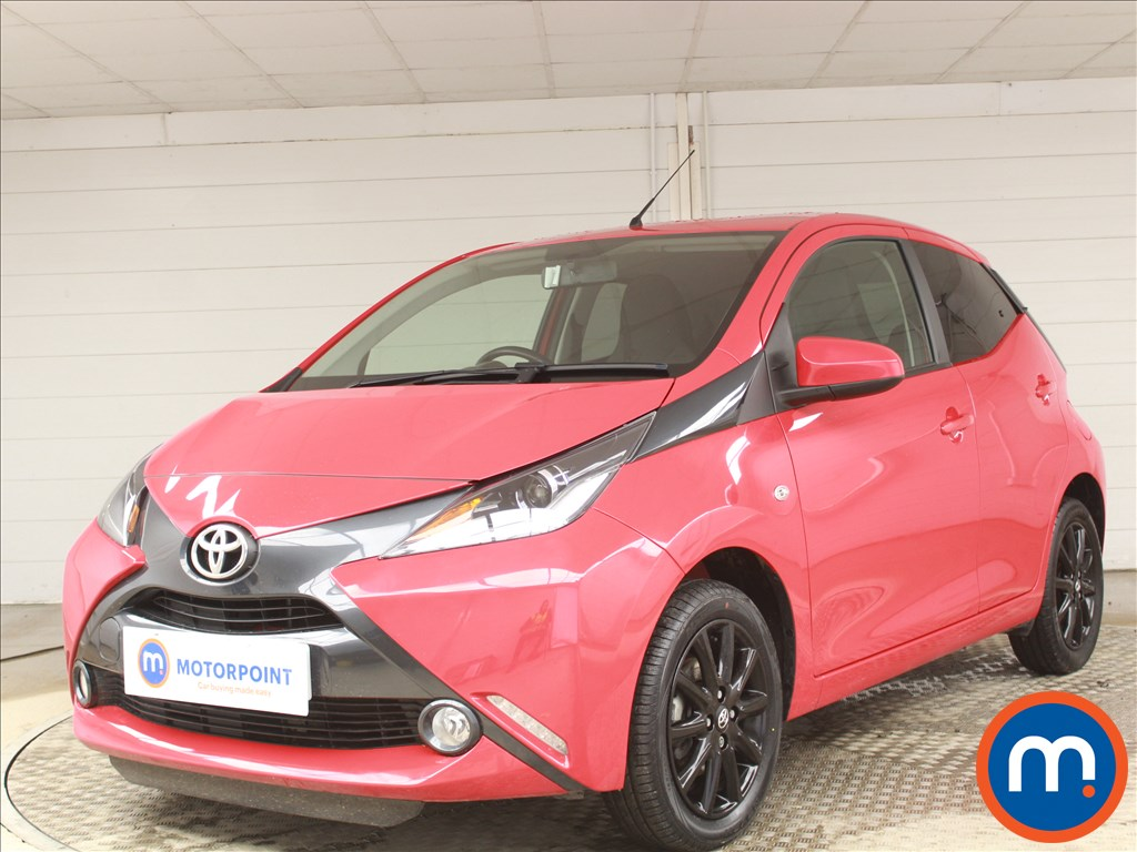 Toyota Aygo X-Style - Stock Number 1091015 Passenger side front corner